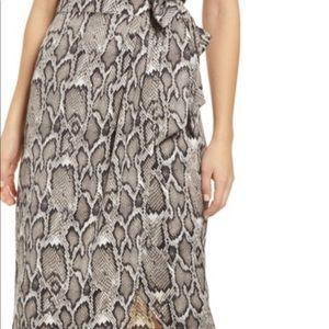 Dresses & Skirts - Afrm, Women's animal print skirt